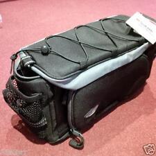 Premier Rack Pack Top Bag con borse laterali Pieghevole Nero