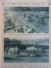 1917 BRITISH DIVISIONAL CAMP GYMKHANA; GERMAN ASKARIS EAST AFRICA WWI WW1