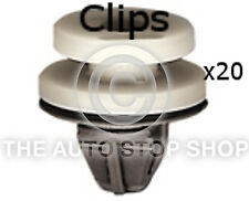 Clip PORTE pannels 8,2 mm RENAULT TRAFIC / TWINGO / VENTO / Zoe ETC 1327re Pacco di 20