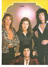 QUEEN early pose magazine PHOTO / mini Poster 10x8 inches