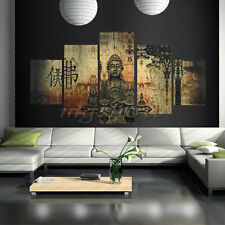 Unframed Buddha Canvas Print Wall Art Ethnic Home Decor Hanging Buddhist Picture