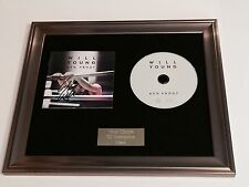 PERSONALLY SIGNED/AUTOGRAPHED WILL  YOUNG - 85% PROOF FRAMED CD PRESENTATION.