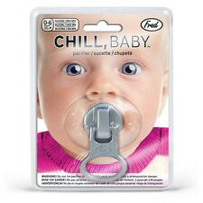 Fred Chill Baby Zip It Pacifier Funny Teeth Dummy Soothie Soother