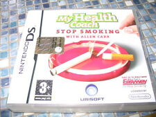 NINTENDO DS STOP SMOKING MY HEALTH COACH 2008 PAL BRAND NEW