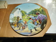 """Little House on the Prairie Plate Series """"A BELL FOR WALNUT G"""" No.6 NIB w/insert"""