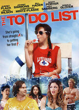 The To Do List (DVD, 2013, Includes Digital Copy; UltraViolet) - NEW!!