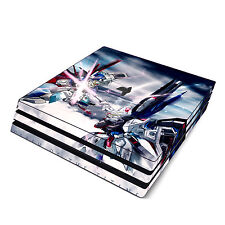 Skin Decal Cover Sticker for Sony PS4 Pro - Gundam