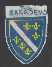 BOSNIA ARMY   Territorial Defence Force - TO SARAJEVO patch from 1991