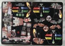 Star Wars Wizkids Pocketmodel 127th Gunship Wing ARC170 & Droid Tri Fighters-010