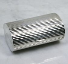 Vintage NAPIER CO Sterling Silver Cigarette Cash Case. Art Deco Design VERY RARE