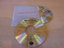 MARVIN GAYE - LIVE IN MONTREUX - EURO  PROMO 2  CD!!!!!!!