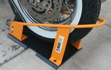 Harley Davidson Wheel Chock Stand Trailer Sportster Road King Truck Ramp Softail