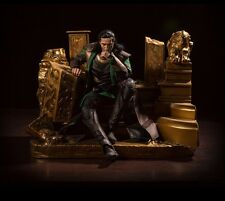 Red Diorama 1/6 Scale Loki Throne Odin