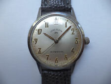 Lord Elgin 25 Men's Automatic Selfwinding SS Watch New Band Swiss Made.GC Runs!