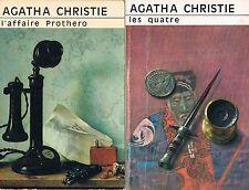 AGATHA CHRISTIE L'affaire Prothero + Les quatre + PARIS POSTER GUIDE