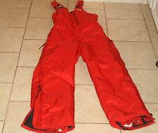 Womens MUSTANG Ice Rider Snowmobile Pants - MP4227 - Red size 10