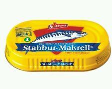 29 cans of Norwegian Stabburet Makrell i Tomat (Mackerel in tomato) 170 gram tin