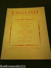 ENGLISH ASSOCIATION - SPRING 1953 VOL 9 # 52 - POETRY OF ANDREW YOUNG