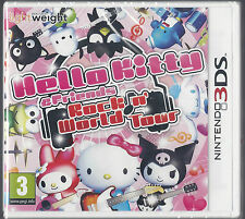 Hello Kitty & friends Rock n world tour  (Nintendo 3DS) BRAND NEW