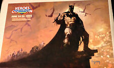 BATMAN Heroes Convention Poster by ARTHUR SUYDAM