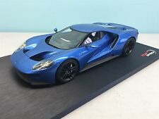 1:18 Top Speed 2015 Ford GT North American Intl. Auto Show Liquid Blue TS0004