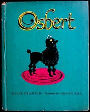 OSBERT The Black Poodle Dog ~ Vintage 1950's Children's Slottie TOY Book