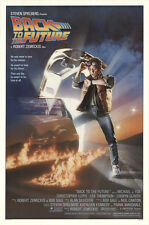 Back to the Future 1985 Original Movie Poster Adventure Comedy Sci-Fi