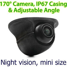Car Front Side View Forward Camera Colour Parking Night Mode Mini 170 Degree TUS
