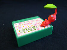 New Pikmin Pikumin Stationary Red Leaf Memo Stands Gashapon Collection Figure JP
