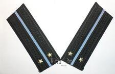 UdSSR Schulterstücke für Uniform Marineflieger Leutnant / Leitenant Rote Armee