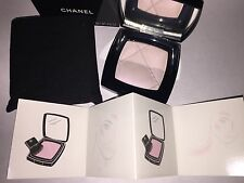 NIB CHANEL Limited Ed Highlighter Brush Set Silk Dream Radiance Powder Compact