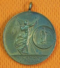 US USA WW1 WWI Richmond Virginia Medal Order Badge