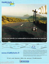 PUBLICITE ADVERTISING 065  2002  VIA MICHELIN  pneus BUISNESS SERVICE