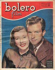 rivista fotoromanzo - BOLERO - Anno 1951 Numero 224 V. CORTESA W. LUNDIGAN