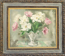"""Wallace BASSFORD (American 1900-1998) Original Oil Painting """"Spring Fragrance"""""""