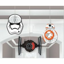 Disney Star Wars The Force Awakens Birthday Party Hanging Honeycomb Decorations