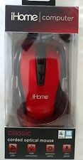 ihome computer mouse, classic corded