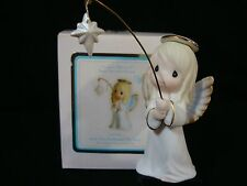zj Precious Moments-And They Followed The Star-Angel/Star-Mini Nativity