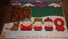 "TV POSTER~South Park Entire Cast 1997 Sky One Levi's UK Quad 30x40"" Original~NOS"