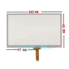 """4.3"""" Resistive LCD Touch Screen Panel Digitizer For MP4 105*65mm"""