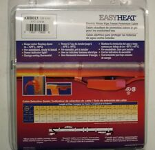 3' Electric PIPE HEAT TAPE Cable w/ Thermostat - EasyHeat - New