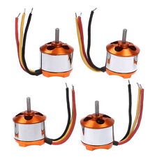4 X 13T 1000KV Outrunner 2212 Brushless Motor for RC Multicopter Xcopter New