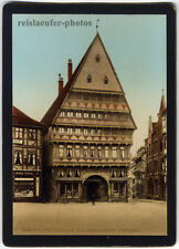 Hildesheim, 4 Original-Photochrome, Photochrom-Zürich, um 1900