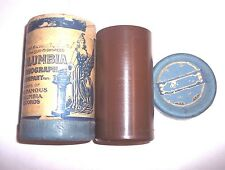 """COLUMBIA PHONOGRAPH BROWN WAX RECORD #9039 """" CHURCH SCENE FROM THE OLD HOMESTEAD"""
