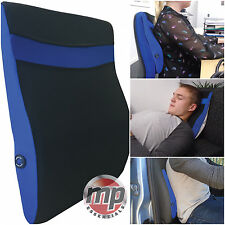 Car Seat Home Office Battery Powered Back & Neck Lumbar Support Massage Cushion