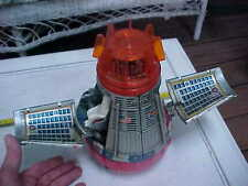 Vintage Old Battery Operated Tin Toy NASA United States Space Capsule Spaceship