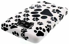 New! Animal Paw Print Gel Skin Case / Cover for Samsung i9100 Galaxy S2