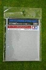 Tamiya esponja de lijado Hoja 180 Grit 87161
