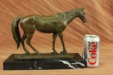 Bronze Horse Barye Arabian Mare L'Accolade Sculpture Statue Vintage Figure Decor