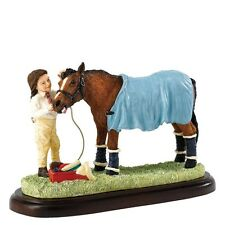 Border Fine Arts James Herriot Studio Collection Horse  Ready for Home A25876